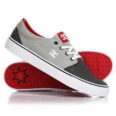Кеды кроссовки низкие DC Trase Tx Grey/Red