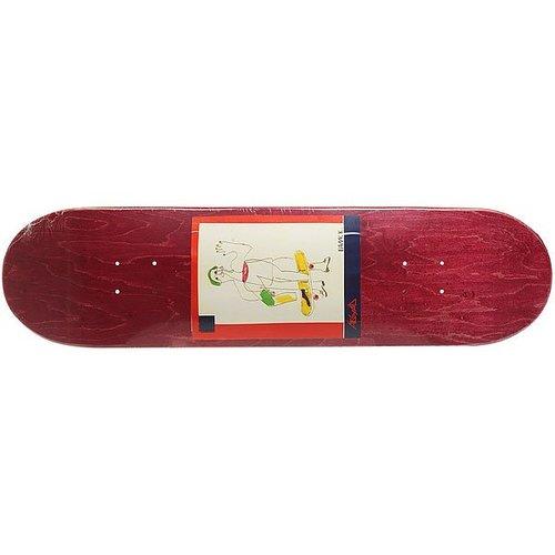 Дека для скейтборда для скейтборда Absurd SSS №2 Burgundy 32 x 8.125 (20.6 см)