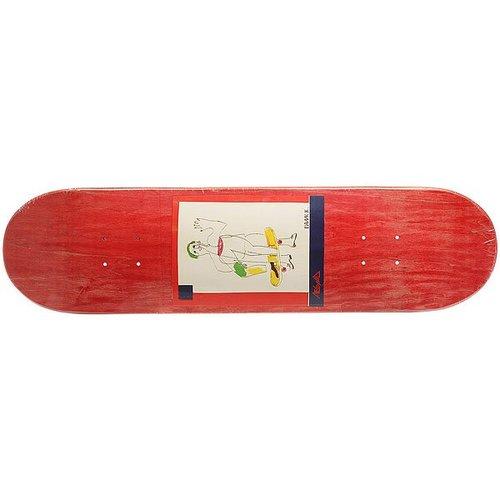 Дека для скейтборда для скейтборда Absurd SSS №2 Red 32 x 8.125 (20.6 см)