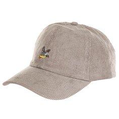 Бейсболка классическая Запорожец Corduory Cap Grey