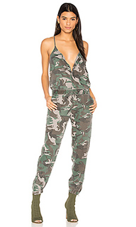 Camo strappy jumpsuit - Pam & Gela