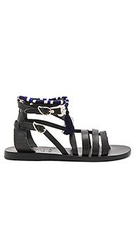 X lemlem satira wrap sandal - Ancient Greek Sandals