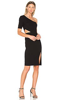 Платье с вырезом на одном плече - JILL JILL STUART