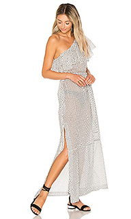 Платье с окантовкой arden - Lisa Marie Fernandez