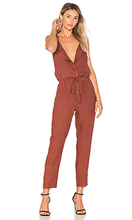 French linen jumpsuit - Enza Costa