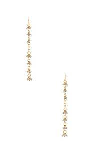 Свисающие серьги liliana - Natalie B Jewelry
