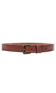 Studded jean belt - Linea Pelle