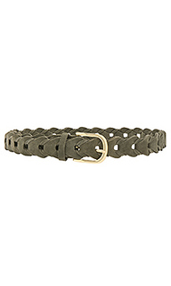 Suede link belt - Linea Pelle