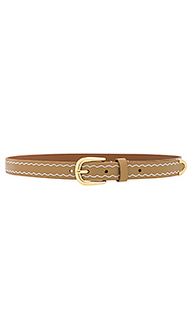 Western embroidered belt - Linea Pelle