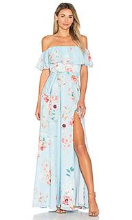 Макси платье carmen - Yumi Kim
