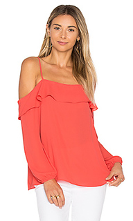Cold shoulder with ruffle top - 1. STATE