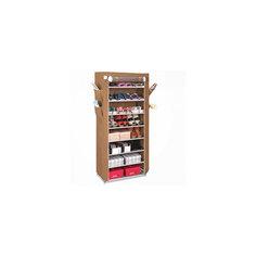Тканевый шкаф для обуви и аксессуаров Элис, Homsu, коричневый