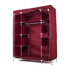 Тканевый шкаф Маджорити, Homsu, бордовый