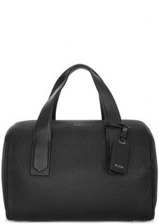 Вместительная сумка из натуральной кожи Dkny