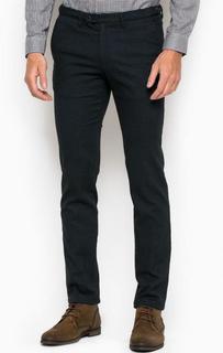 Зауженные брюки из хлопка, полиэстера и вискозы Drykorn