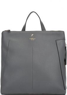 Серый рюкзак с узкими лямками Fiorelli