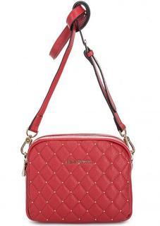 Кожаная сумка с металлическим декором Fiato Dream