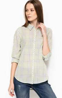 Хлопковая приталенная рубашка Hilfiger Denim