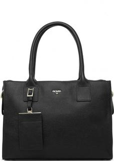 Черная сумка из натуральной кожи Picard