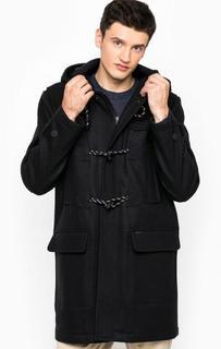 Шерстяное пальто с капюшоном Tommy Hilfiger