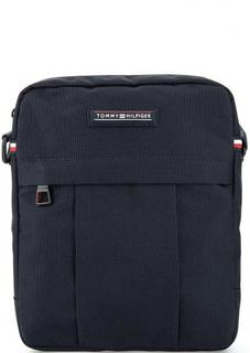 Синяя текстильная сумка через плечо Tommy Hilfiger
