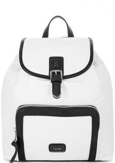 Белый текстильный рюкзак с тонкими лямками Picard