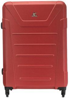 Вместительный красный чемодан Verage