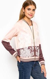 Куртка-бомбер с вышивкой Juicy Couture