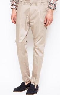 Хлопковые брюки с шестью карманами Drykorn