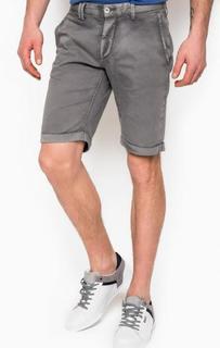Короткие шорты серого цвета Cycle