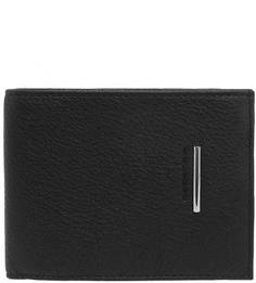 Черное портмоне из натуральной кожи Piquadro