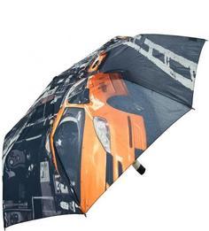 Серый складной зонт Zest