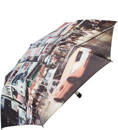 Разноцветный складной зонт Zest