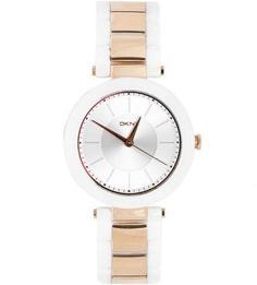 Часы с циферблатом круглой формы Dkny