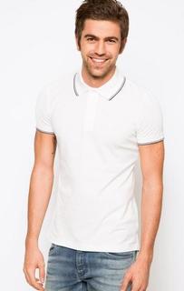Футболка поло белого цвета Armani Jeans