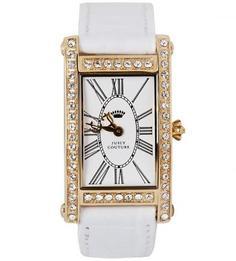 Часы с прямоугольным циферблатом Juicy Couture
