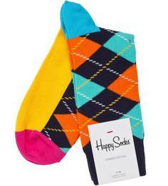 Разноцветные носки из хлопка Happy Socks