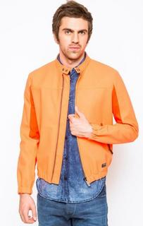 Оранжевая куртка на молнии Replay