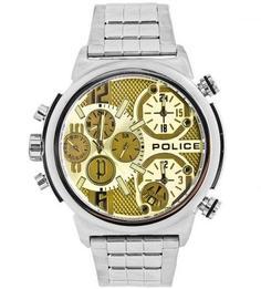 Часы с металлическим браслетом Police