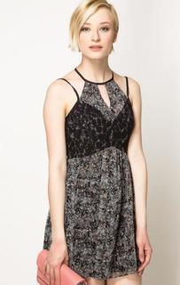 Короткое серое платье Bcb Generation