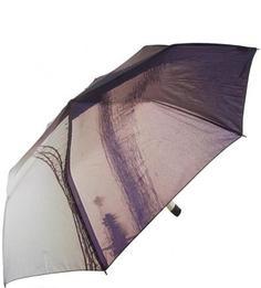 Фиолетовый складной зонт Zest