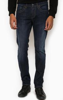 Зауженные джинсы с заломами Bikkembergs