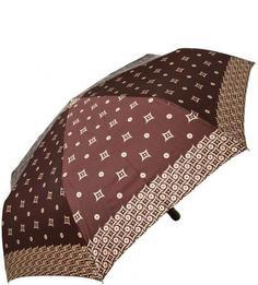 Коричневый складной зонт Doppler