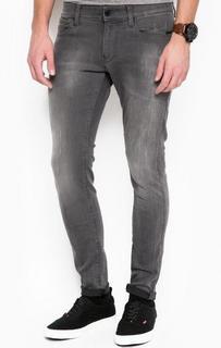 Серые джинсы с потертостями G Star RAW