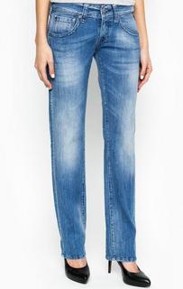Синие джинсы прямого кроя Replay