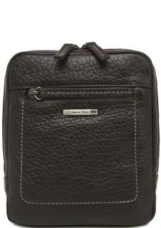 Маленькая сумка коричневого цвета на молнии Gianni Conti
