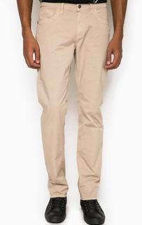Хлопковые зауженные брюки с пятью карманами Bikkembergs