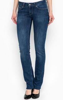 Синие джинсы прямого кроя Liu Jo