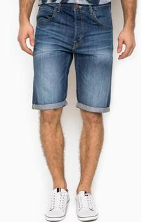 Синие джинсовые шорты с пятью карманами Lee