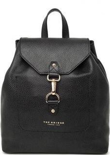 Кожаный рюкзак черного цвета THE Bridge